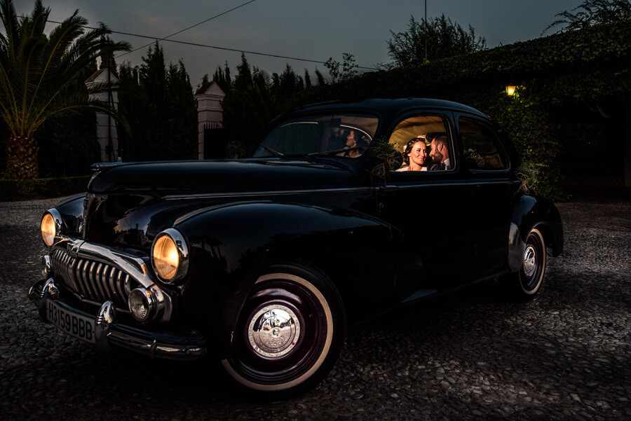 coche-novios